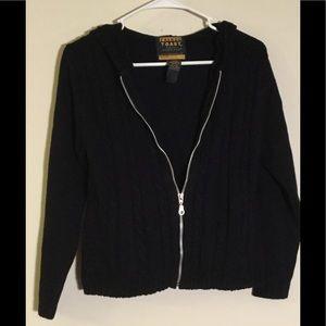 French Toast sweater jacket